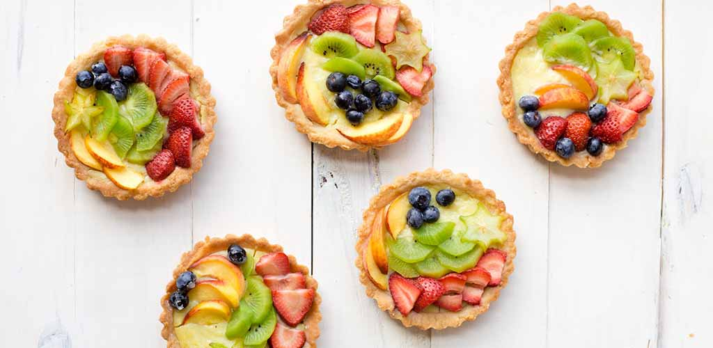 Fruit tarts from The Lincoln Apartment