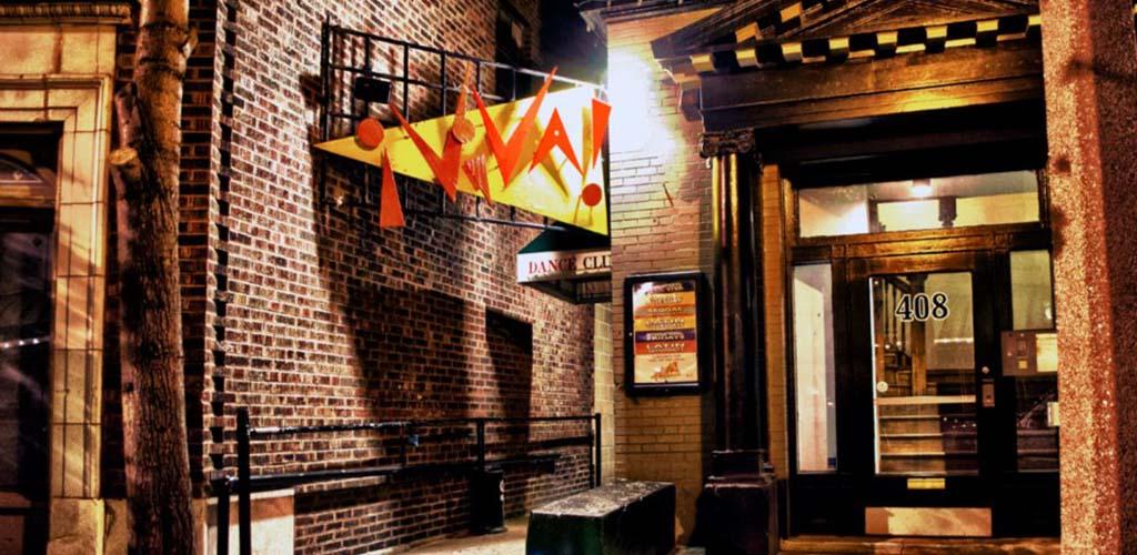 The exterior of Club Viva