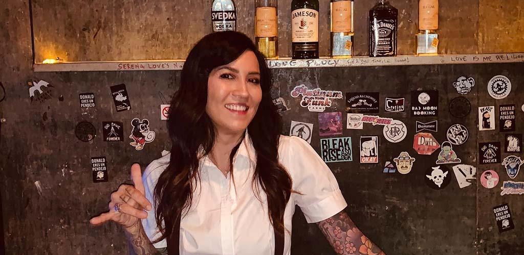 The hot bartender at Harvard and Stone