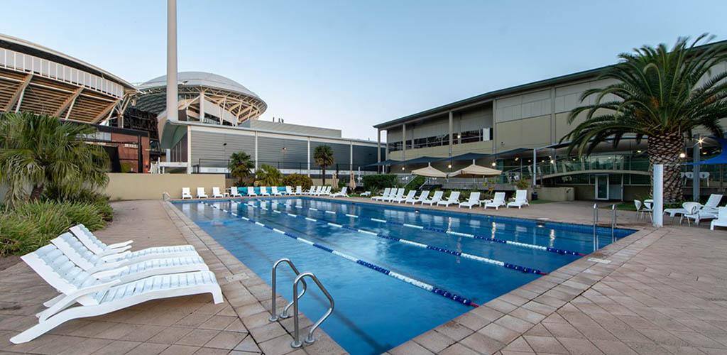 The pool at Next Gen Health Club