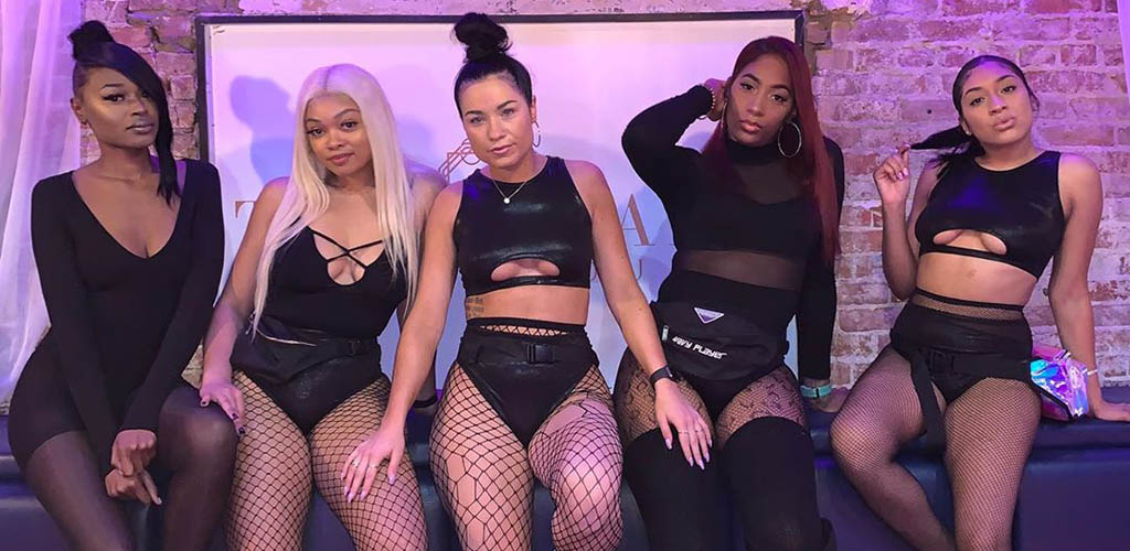 5 sexy Cleveland girls ready to dance at Park Social Lounge