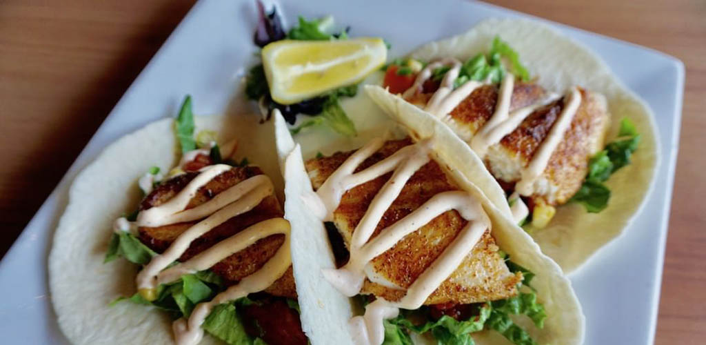 Tacos from Pump House Grille