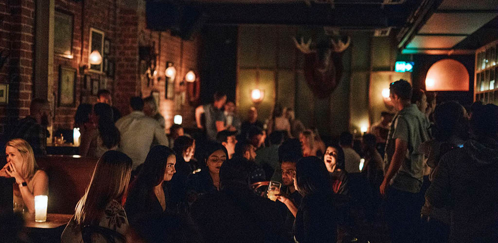 The mysterious vibe at Sneaky Tony's