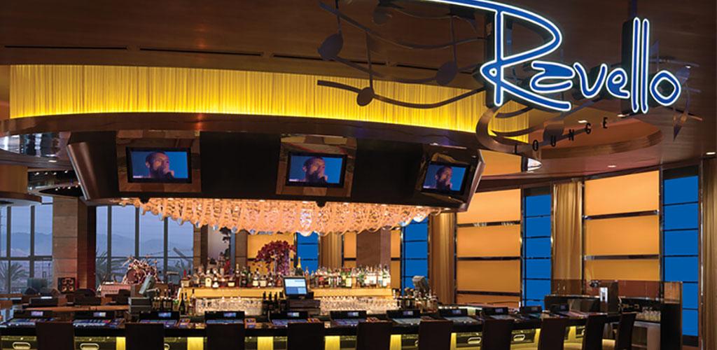 The bar at Ravello Lounge