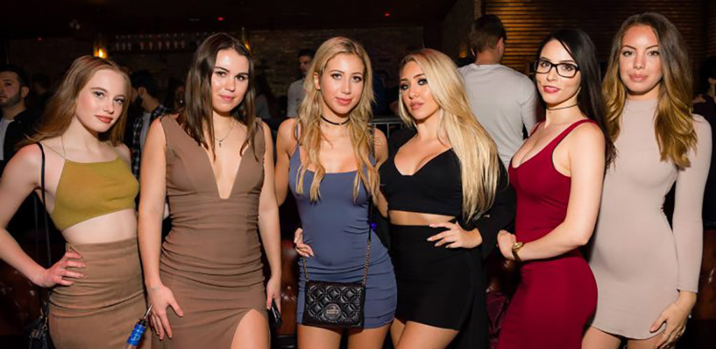Hot girls partying at Central Nightclub