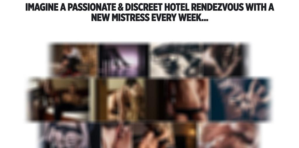A new mistress every week