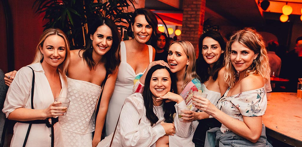 Newcastle girls drinking at a bachelorette party at Argyle House