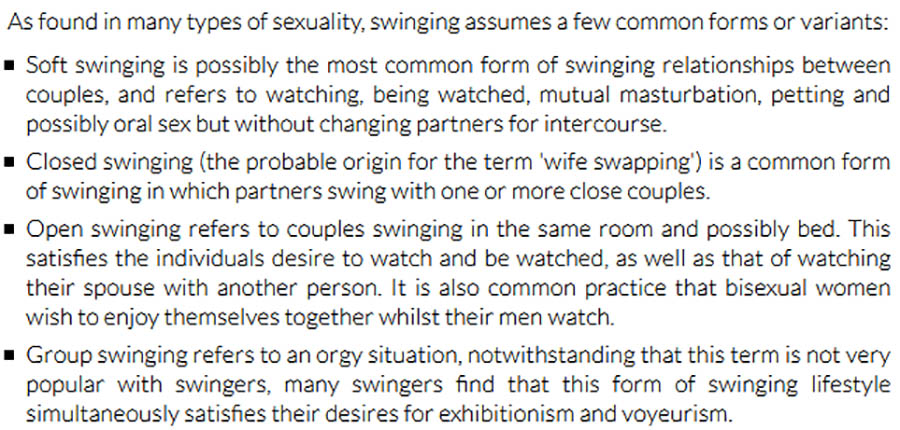 Definition of swinger terms
