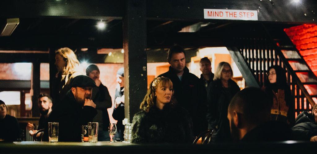 A laidback evening at Lark Distillery Whisky Bar