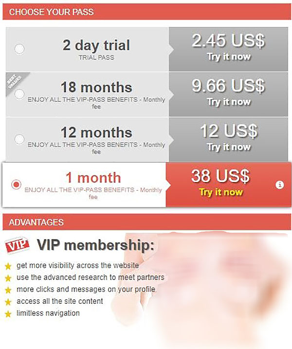 Site prices