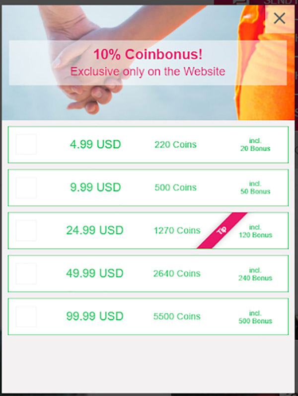 Coin bundle prices