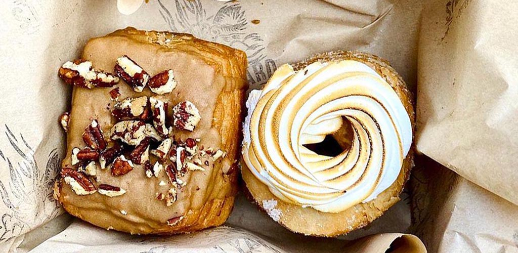 Fresh pastries from Steam Yard Coffee Co