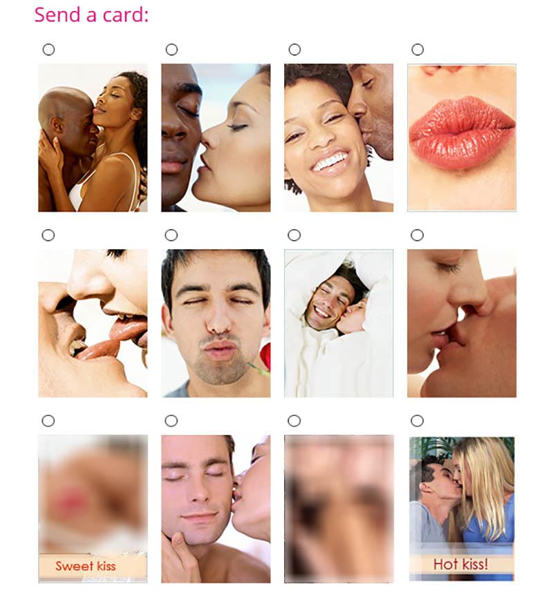 You can send stock photos