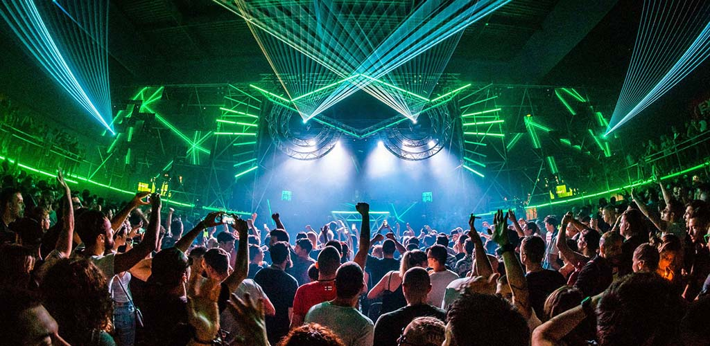 A huge party at Fabric London