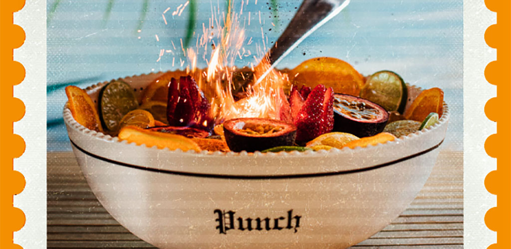 The famous punch bowl from Highball Express