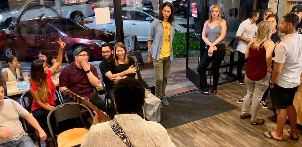 An acoustic event at My Coffee Muse