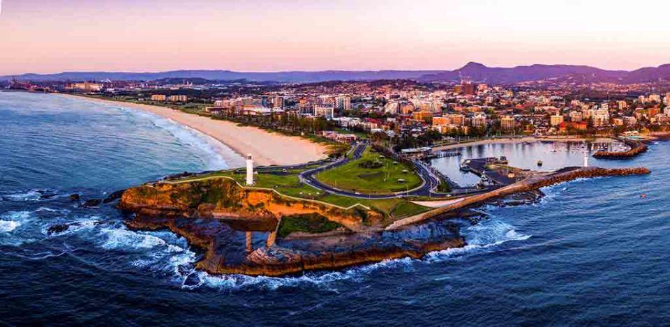 View of Wollongong, Australia