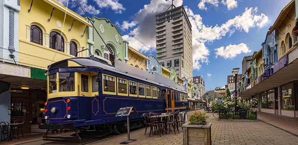 The tram at New Regent Street