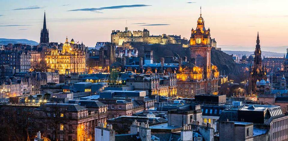 Edinburgh Evening Skyline
