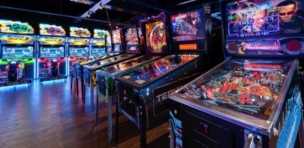 Arcade games at Arcains