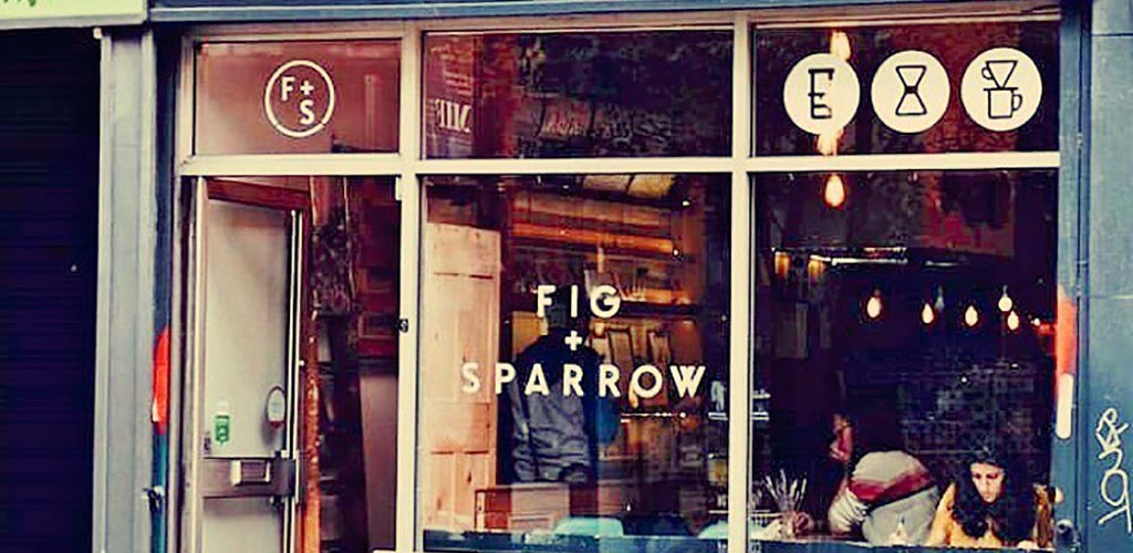 Storefront of Fig + Sparrow