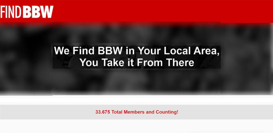 Find BBW landing page