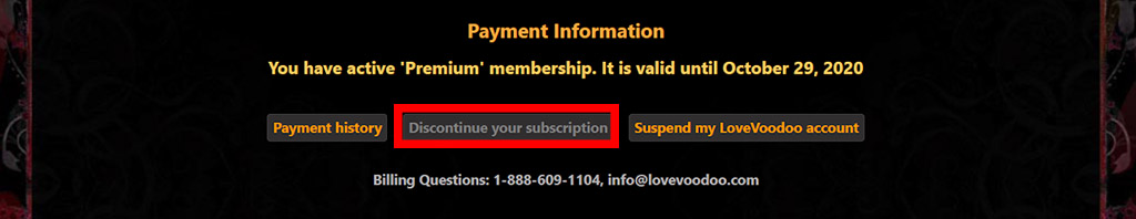 How to cancel your membership