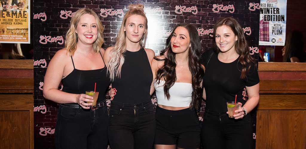 Pretty Vancouver girls at Roxy