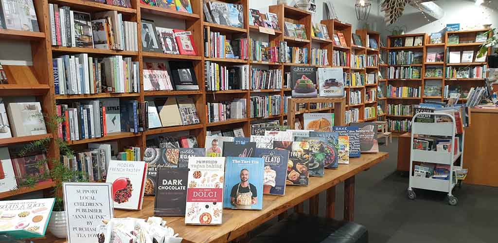 A variety of cookbooks from Scorpio Books