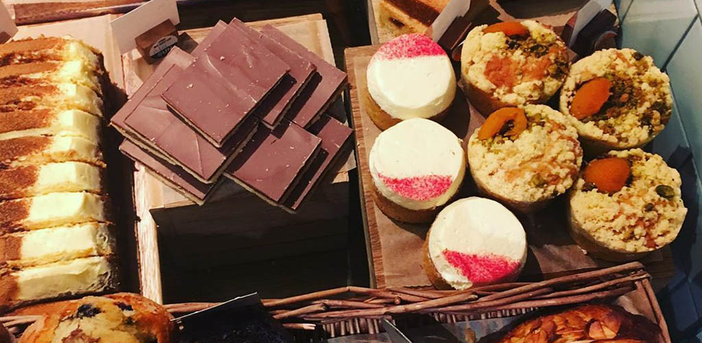 Desserts from Cafe W