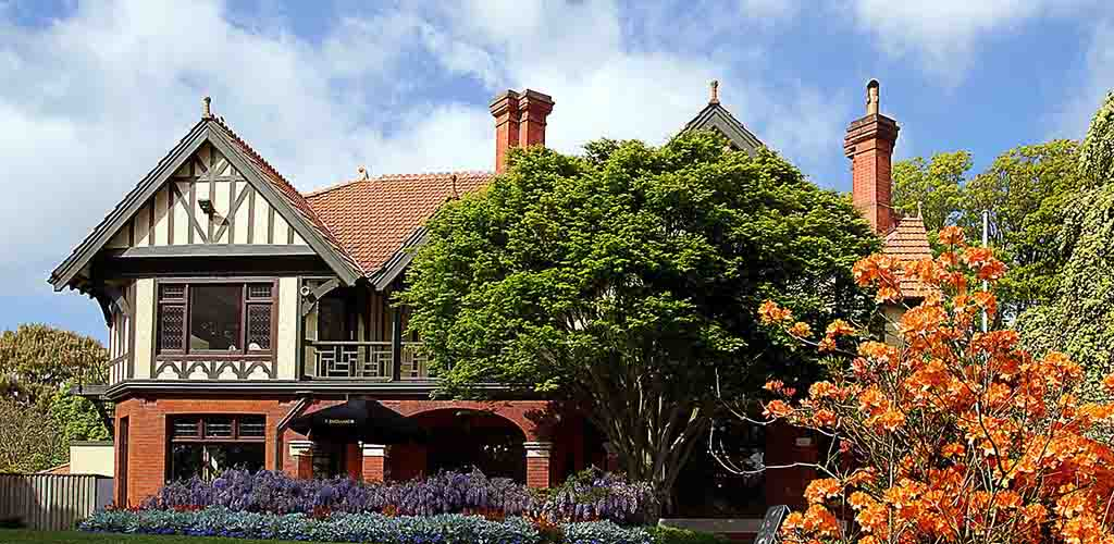 The Mona Vale homestead