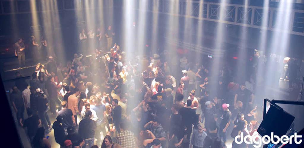 The dance floor of Le Dagobert