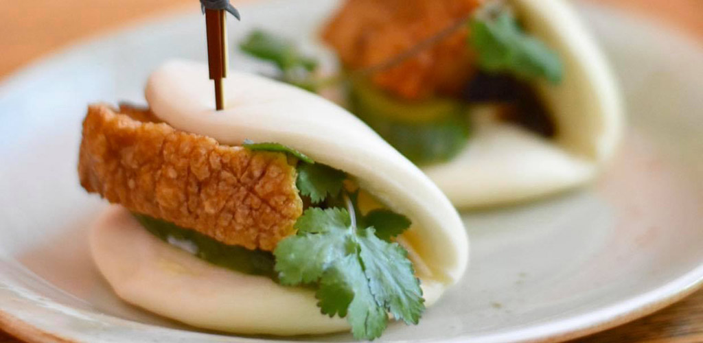 Bao buns from Red Spice Road