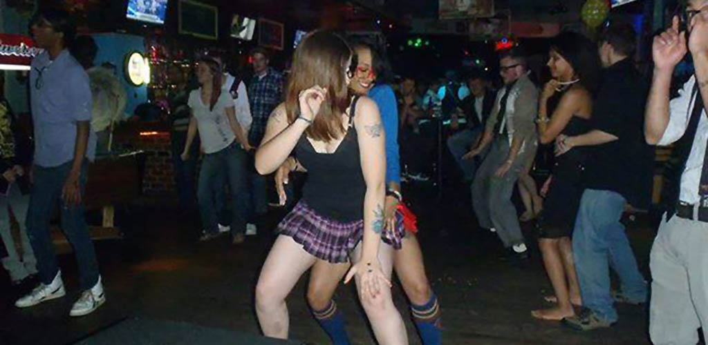 Greensboro girls on the dance floor of The Club Orion