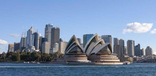 Sydney Australia. Opera House and skyline