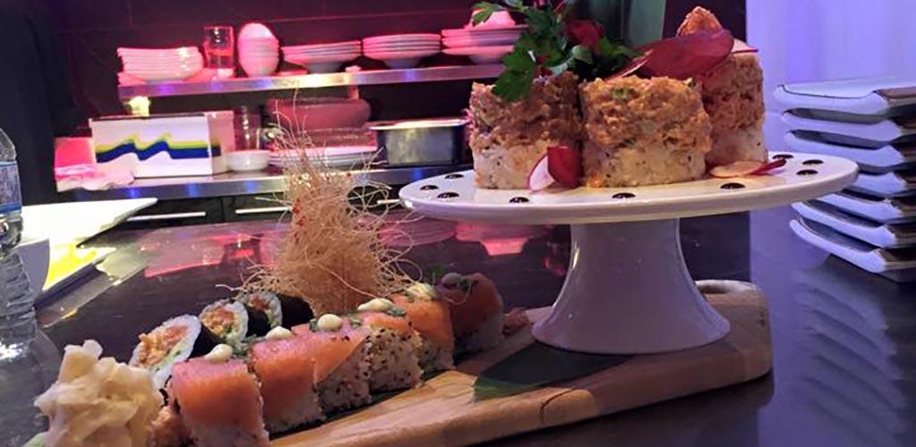Sushi rolls from Kimono Sushi