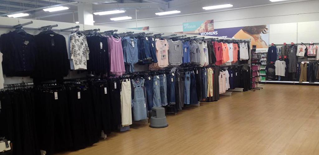 Clothes fit for BBW in Fife at Tesco
