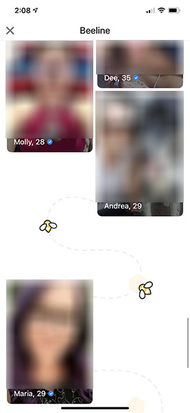 Women who swiped right on me
