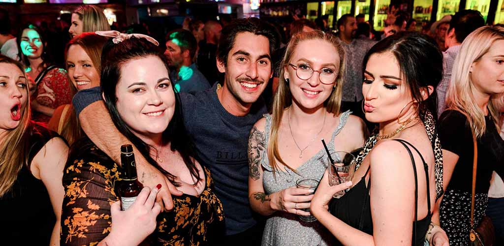 BBW in Perth partying at The Mustang Bar
