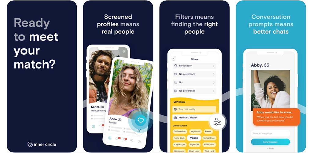 Screenshots of Inner Circle