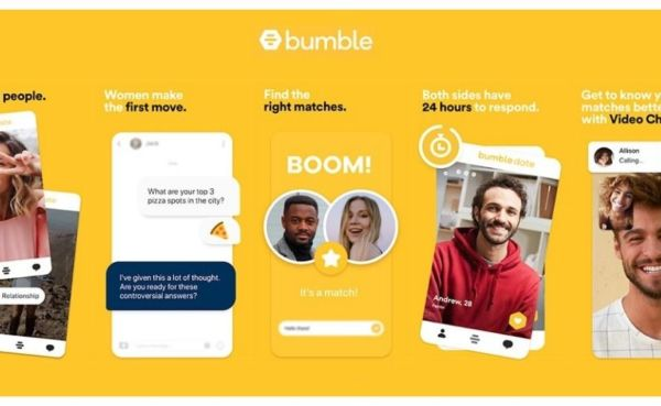 Some of the Bumble features
