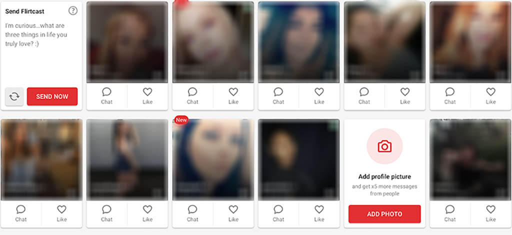 Lots of gorgeous users
