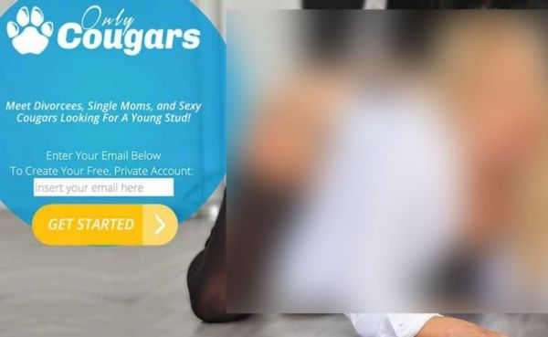 OnlyCougars landing page