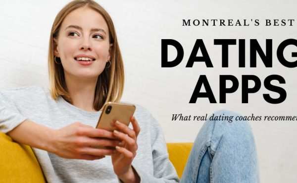 Girl wondering what to put on her profile on the best dating apps and sites in Montreal