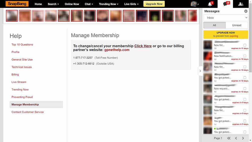 How to cancel your membership 2
