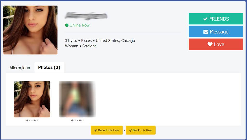 Profile that seems legit