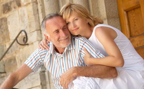 What attracts a younger woman like her to an older man